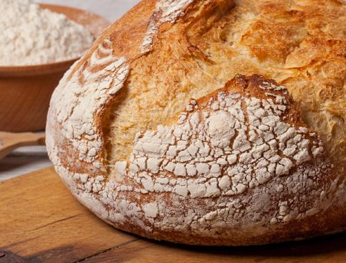 Receta de Pan Casero   Cómo hacer pan casero   MUELOLIVA ✓